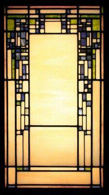Theodore Ellison | Vienese Wisteria | Leaded Glass Window