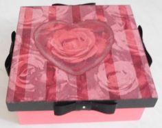 """caixa MDF """"Coração"""""""