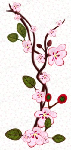 Cherry Blossom Vector, Cherry Blossom Flowers, Scrapbook Borders, Frame Template, Heart Frame, Painted Flowers, Vector Clipart, Card Wedding, Flower Decorations