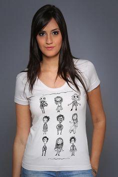 Camiseta O Estranho Mundo de Tim EU QUERO