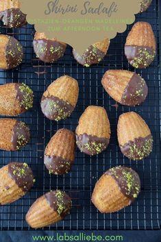 Shirini Sadafi - Pistazien-Orangen Madeleines zum Afternoon Tea - Labsalliebe