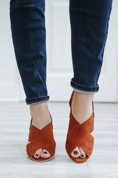 787f1c2fda751d Devin-11 Faux Suede Heeled Sandals - Online Clothing Boutique Online  Clothing Boutiques