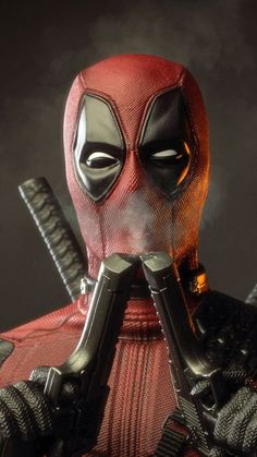 'Deadpool Officially In The Works At Marvel Studios - Says Ryan Reynolds Deadpool Wallpaper, Avengers Wallpaper, Superhero Wallpaper Iphone, Marvel Art, Marvel Heroes, Marvel Avengers, Marvel Comics, Deadpool Comic, Logo Deadpool