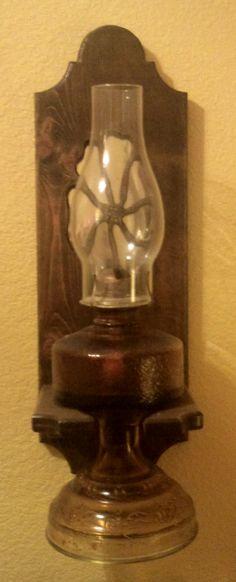 1000 images about norris on pinterest oil lamps for Wooden kerosene lamp holder