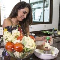 Patrícia Poeta mostra como fazer uma pizza 'low carb' que ajuda a manter a boa forma com saúde