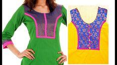 Creative Designer Front Neckline for  Kurti | Kameez   DIY || AWW # 280||