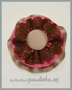 Lazo pare el pelo, para niñas, fabricado con pinza de cocodrilo y combinado en tres colores
