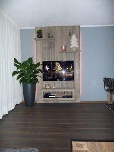 Steigerhouten wandmeubel gemaakt bij talsma Meubels Friesland