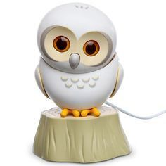 USB Powered Owls have realistic movements - Eye blinking and head turning motions - Three moods: Active, Mellow or Sleeping - Comes with clip for monitor or laptop and small stump - Owl Stands 3″ high when perching on his stump $19.99 on Amazon
