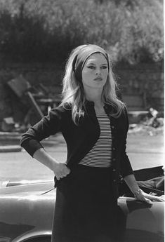 "Brigitte Bardot in ""Contempt"" 1963 Embassy"