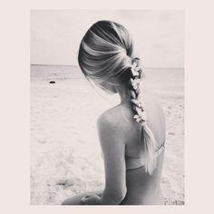 Cool braid. Summer style #beach