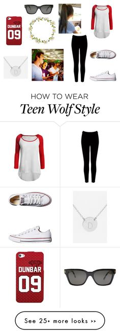 """""""Day Out With Dylan O'Brien, Dylan Sprayberry and Tyler Posey"""" by molliecann on Polyvore featuring LE3NO, Warehouse, Converse, Carole, Nashelle and RetroSuperFuture"""