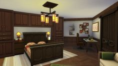 The Sim Stone Mansion in The Sims 4. A beauty house for your sims. Follow in thesims.com , JuCosta_83