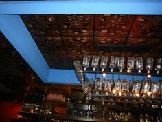 Our beautiful PVC ceiling tiles resemble real tin at only a fraction of the price. What a unique spin to this mexican restaurant! #tile #homedecor #ceilingtile #fashion #Restaurant #picture #photography #cute #pretty #beautiful #interiordecor #decor #interiordesign #artsy #instaart #beautiful #instagood #gallery #masterpiece #creative #photooftheday #instaartist #graphic #graphics #artoftheday