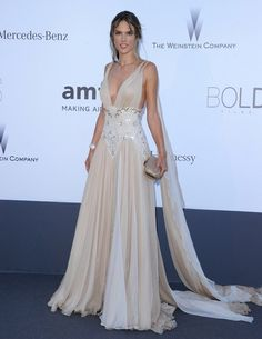 Alessandra Ambrosio's Greek Goddess Gown — Yes, please!