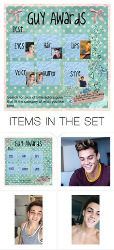 """the guy awards"" by bamalife on Polyvore featuring art"