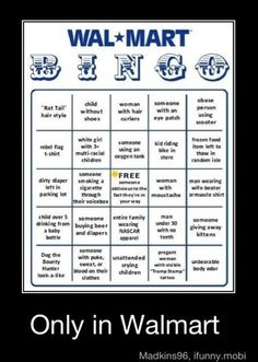 I'd have to go to Walmart at least one time more than I'd like to go in order to win this bingo game. I Smile, Make Me Smile, Haha Funny, Lol, Funny Stuff, Funny Things, Random Stuff, Random Things, School