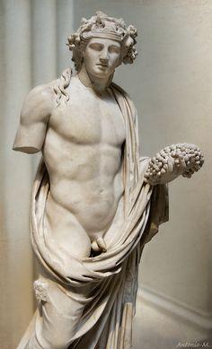 Antinous as Dionysus - British Museum, London