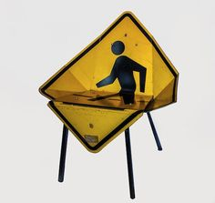 Traffic sign chairs | Upcycle That