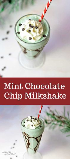 This EASY milkshake recipe is made with mint chocolate chip ice cream and Creme de Menthe & served in a chocolate-drizzled glass with even more whipped cream. Homemade Milkshake, Healthy Milkshake, Milkshake Recipes, Mint Chocolate Chip Milkshake, Chocolate Shake, Mint Chocolate Chips, Easy Chocolate Milkshake Recipe, Ice Cream Milkshake Recipe, Gourmet