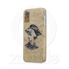 Jane Austen - Paris Iphone 4 Cases from Zazzle.com