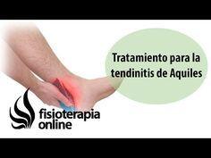 Tratamiento para la tendinitis de Aquiles o inflamación del tendon de Aquiles - YouTube