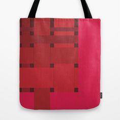 neonred Tote Bag by creaziz - $22.00