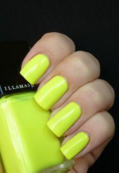 Illamasqua Rare Neon Lime by All You Desire