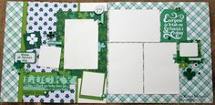 Capture and Preserve your favorite St. Patrick's Day memories with this two page layout kit featuring the Lucky Charm collection by Echo Park. This kit includes full color instructions and...