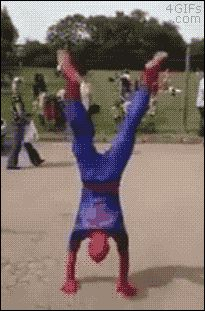Spidey you prick - get more funny #GIFs at - http://worklad.co.uk/category/gifs/