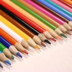 Use colored pencils to indicate the design color on a seed bead pattern.
