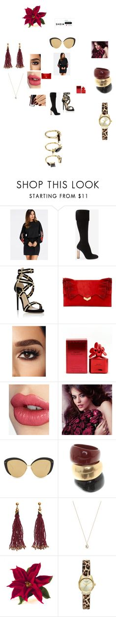 """""""https://www.polyvore.com/cgi/contest.show?id=685545&type=details&.locale=it"""" by annali1983 ❤ liked on Polyvore featuring Alexander McQueen, Paul Andrew, Jimmy Choo, Marc Jacobs, Charlotte Tilbury, Avon, Linda Farrow, Salvatore Ferragamo, Nocturne and Eva Fehren"""