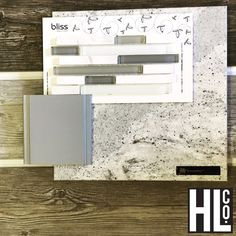 The cold and snow inspired me to throw together a gray kitchen in our showroom!  Styles shown: Bertch cabinet in Loft, Florida Tile Bliss mosaic in Iceland, Cambria quartz in Summerhill, and Florim Forest porcelain tile in Rain on the floor