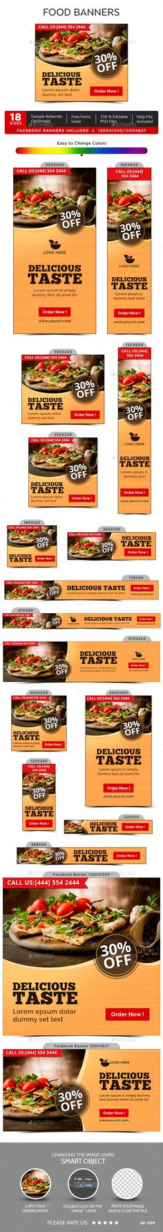 Food & Restaurant Banners