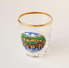 Vintage Shot Glass Heidelberg Souvenir