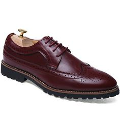 Oxford Fashion Pu Leather Shoes,Cheap Trendy on Sale!