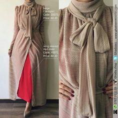 Abaya Fashion, Muslim Fashion, Modest Fashion, Girl Fashion, Fashion Dresses, Womens Fashion, Hijab Gown, Casual Dresses, Casual Outfits