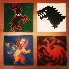 Game of Thrones hama beads by bemola