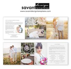 Wedding Photographer Price Guide Marketing by SavantDesign on Etsy