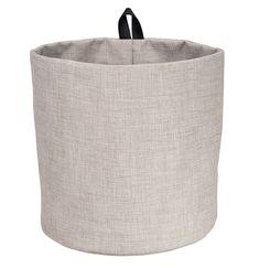 Påse till krok BIGSO, ljus grå / beige, large