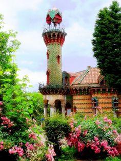 Capricho de Gaudí, en Comillas  #Cantabria #Spain