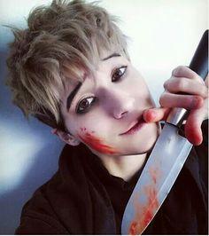 Sangwoo - Killing Stalking #Cosplay #KS By: https://www.instagram.com/zunekuro/