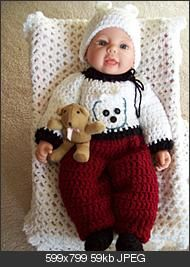 """#FREE #ADORABLE #CROCHET Pattern #SET for : #Bearly #There – 18"""" soft body #doll"""