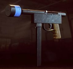 An improvised machine pistol with supressor coming to Battlefield Hardline? that's new.