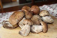 LA BUFFETTA il blog di ricette fotografate passo passo...: PULIRE I FUNGHI…