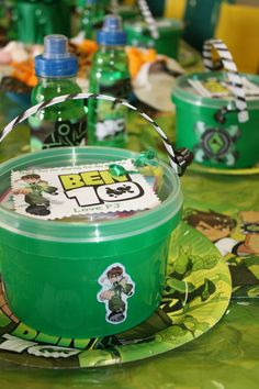 Boys Party Themes | Ben10