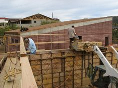 Rammed Earth House - Rammed Earth Forms