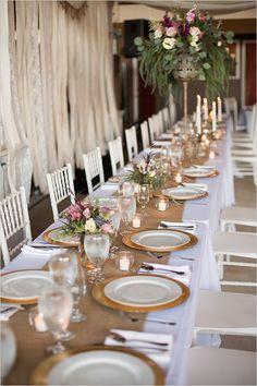 reception table decor #receptiondecor @weddingchicks