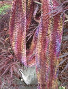 Adding More Stitches Knitting : 1000+ images about *Knitting - Scarves & Cowls on Pinterest Cowls, Cowl...