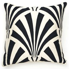 Beautiful Art Deco Designer Pillow, So Hollywood Silver Screen  Inspiring Interior Design Fans With Unique Luxury Hollywood Home Decor & Gift Ideas From InStyle-Decor.com Beverly Hills Enjoy & Happy Pinning